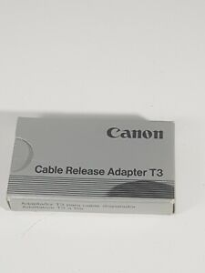 Genuine Canon T3 Cable Release Adapter - FREE POST