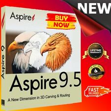 Vectric Aspire 9.5 + Lifetime License Key 🔑 Full Version 100% ✅ Fast Delivery ✅