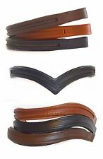 (Lot of 15) Empty Channel Leather Browbands for Bridles 8mm CLOSEOUT SALE