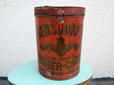 große antike Blechdose Bensdorp's Cacao Tante Emma Laden Verkaufsdose, Knaufdose