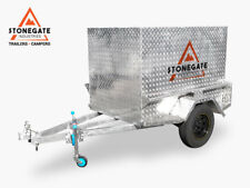 6x4 Luggage Trailer (Fully Welded) ATM 750kg Hot Dipped Gal Heavy Duty Brisbane