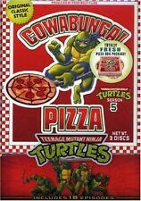 Teenage Mutant Ninja Turtles Original Series Season 5 1987 DVD TMNT Cartoon Set