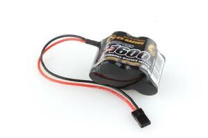 CS-Electronic - Empfänger Akku RX-Hump Pack 6,0V 1600mAh NiMh - C120402