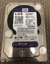 Western Digital Sata Purp WD60PURX 3.5inch 6 TB 5400rpm 24X7 System Hard Drive
