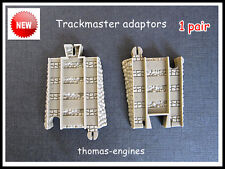 Thomas Trackmaster Tomy Blue track convert  to Brown Track..Adapter ...New