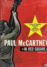 PAUL Mc CARTNEY  - In Red Square ... DVD NEU McCARTNEY - Hey Jude - Yesterday