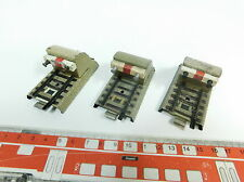 BB876-0,5# 3x Märklin H0/00/AC 462/7060 Prellbock (M-Gleis) für 3600/800 2. Wahl