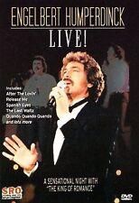 ENGELBERT HUMPERDINCK LIVE! (DVD) LIKE NEW, FREE SHIPPING.