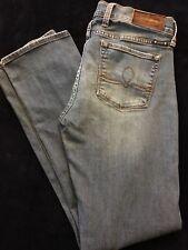 Lucky Brand Sofia Straight Jeans Light Blue Wash Denim Size 6/28