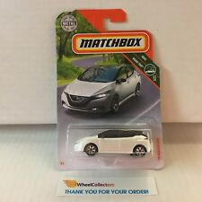 '18 Nissan Leaf * White * 2018 Matchbox Case H * HD4