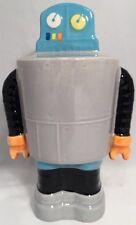 "8-1/2"" Sci-fi Outer Space Alien Ceramic Robot X-Men Target Piggy Coin Bank  NEW!"