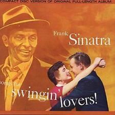 Frank Sinatra Songs for Swingin' Lovers CD 15 Track UK Capitol 1987