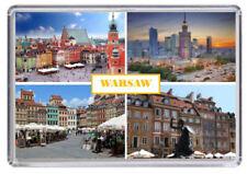 Warsaw, Poland Fridge Magnet 01