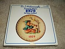 M. J. Hummel 9th Annual 1979 Collector Plate Goebel Singing Lessons - New In Box