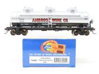 HO Scale Athearn 74455 NATX Ambrose Wine Co. Triple Dome Tank Car #6304
