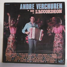 2 x 33 tours André VERCHUREN Vinyles LP le ROI DE L'ACCORDEON - FESTIVAL 109