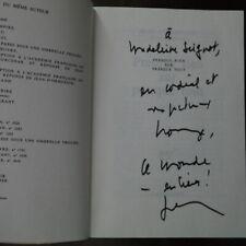 Jean d'Ormesson - PRESQUE RIEN SUR PRESQUE TOUT  avec dédicace