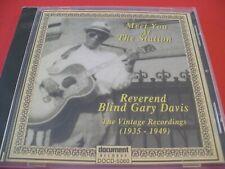 Reverend Blind Gary Davis  * The Vintage Recordings 1935-1949 * New & Sealed CD