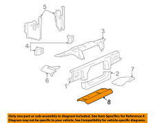 FORD OEM Radiator Core Support-Air Baffle Duct Deflector 3W1Z8327AA