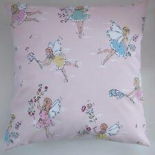 "Shabby Chic Cushion Cover in Cath Kidston Garden Fairies 16"""