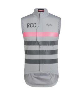 New RAPHA CYCLING CLUB RCC PRO TEAM MENS LIGHTWEIGHT WEIGHT RAIN GILET M RRP 140