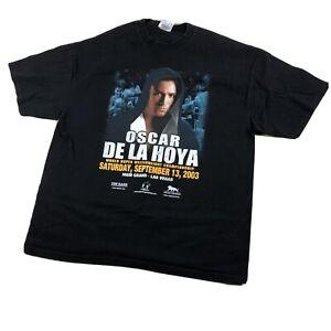 OSCAR DE LA HOYA WORLD SUPER WELTERWEIGHT CHAMPIONSHIP 2003 BOXING TSHIRT XXL
