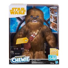 "Star Wars FurReal Ultimate Co-Pilot Chewie Interactive 16"" Chewbacca Plush"
