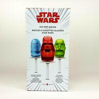 Star Wars Williams Sonoma Ice Pop Molds Set of 6 Darth Vader Stormtrooper R2D2
