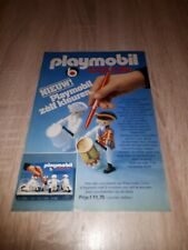 Playmobil color  Playmobil Klicky Werbung 1979 Niederlande print ad extrem rar