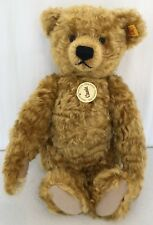 STEIFF 1920 Classic Golden Blonde 35cm Teddy Bear Mohair Jointed 028762