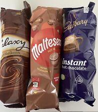 Galaxy/Cadburys/Maltesers Instant Hot Chocolate X21 Cups