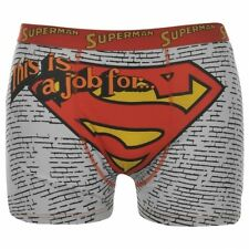 DC Comics Superman Character Boxer Shorts Mens Large - Brand New!