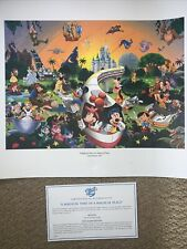 More details for a magical time in a magical place limited release 2005 disney world picture
