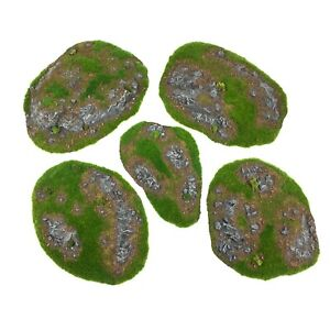 """Resin Hills """"Grass"""" - Ready-To-Play Scenery and Terrain - WH40K, AoS, LoTR SBG"""