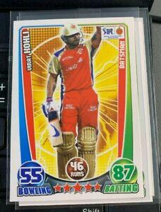Virat Kohli 2012 Topps Cricket Attax IPL #NNO Royal Challengers Bangalore