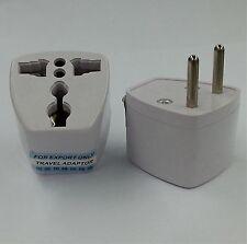 2 Pins US EU Europe UK to AU Australia Power Plug Adapter - Free Uk Post