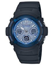 Casio G Shock * AWGM100SF-2A Solar Multiband 6 Blue Face Black GShock COD PayPal