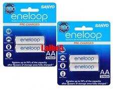 Sanyo Eneloop 2000mAh AA Precharge NiMH Rechargeable Battery HR-3UTGB 4pcs