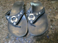 ABEO Leather Sandals- Flip Flops Womens Size 8