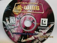 Star Wars: X-Wing Collector's CD-ROM (PC, 1994)  FREE SHIPPING