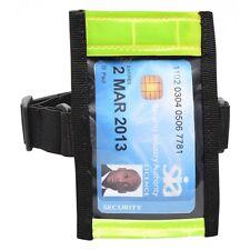 Hi Vis Tactical ID Arm Band Holder Security ID Badge Card  Doorman Armband SIA