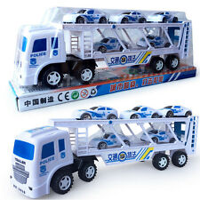 Toy Police Car Double Traffic Trailers Toy Emergency Vehicle Response Police Car