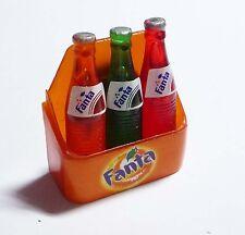 """FANTA 3 Bottle Carrier Limited Edition FRIDGE MAGNET Novelty 2.5"""" Tall Coke"""