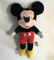 "Mickey Mouse Plush 10"" Disneyland Walt Disney World Theme Parks Stuffed Vintage"