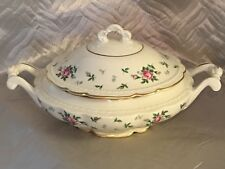 Princess-Empcraft China Sweet Briar Covered Oval Vegetable Bowl, EXCELLENT!!!