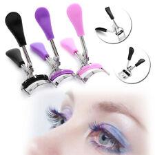 Fashion Eyelash Curler Tweezers Makeup Tool Curling  Clip with Comb Big Eye