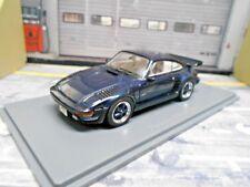 PORSCHE 911 930 Turbo SE Flatnose Flachnase 935 blau blue 1987 NEO Resin 1:43