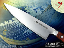 "Japanese vg10 steel Chef's Knife Gyuto Slicer 7.5"" Cookware Cutlery Full Tang"