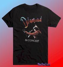 New Neil Diamond In Concert Vintage Mens T-Shirt