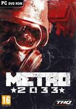 Metro 2033 - PC - Brand New & Sealed